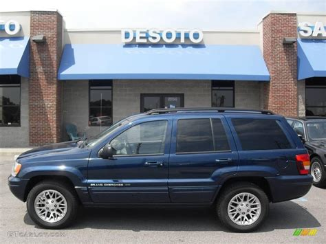 blue jeep grand cherokee 2004 jeep cherokee sport blue pictures