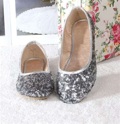 Flatshoes Smith Import 5 soft glitter sparkly sequins flat shoes flats sandals slip pumps ebay
