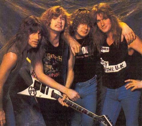 Kaos Band Metal Megadeth Mega7 472 curated metal ideas by olympiafk01 cliff burton metals and kirk hammett