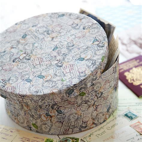 Decoupage Simple - d 233 coupage hat box a simple project for beginners