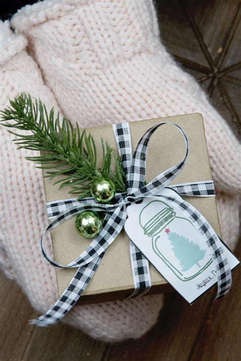 free printable holiday gift tags christmas ornaments