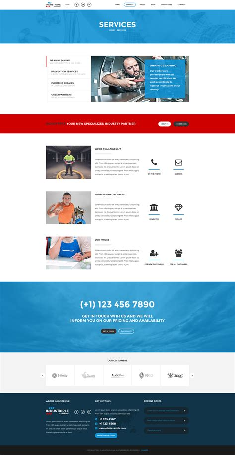 themeforest indus industrial html responsive templates rip