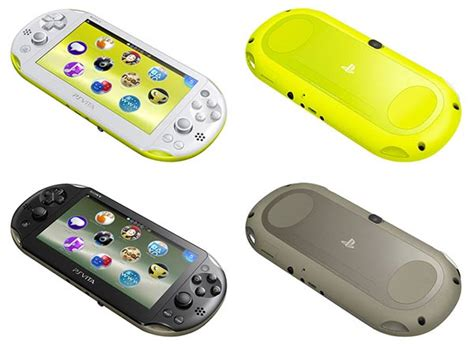 ps vita slim colors ps vita 2000 slim release date set for 7th feb in europe