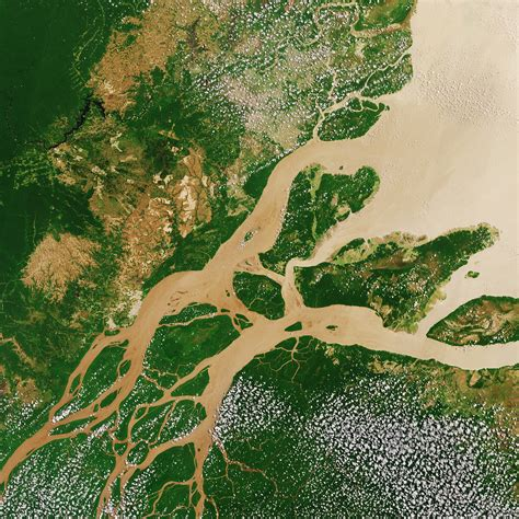 space  images   amazon river
