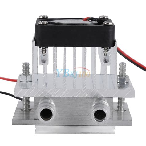 thermoelectric heat sink 12v 6a thermoelectric peltier refrigeration cooling system
