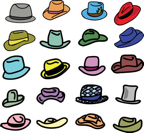 clipart collection clipart hats collection