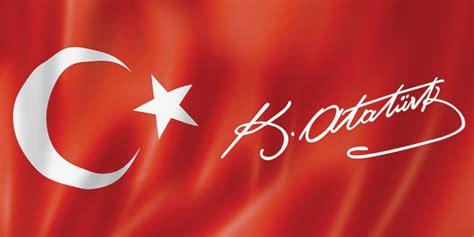 turk bayragi ve bozkurt t 252 rk bayrağı ve k atat 252 rk imzası atat 252 rk unique kanvas