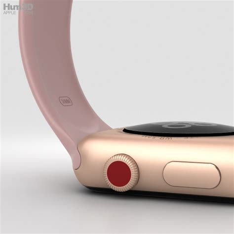 Apple Series 3 38mm Gold Aluminium Pink Sport apple series 3 38mm gps cellular gold aluminum