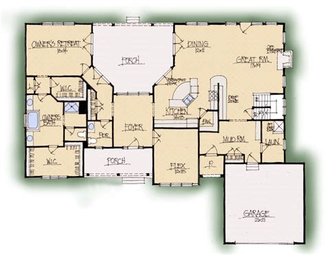 floor plan live live oak house plan schumacher homes