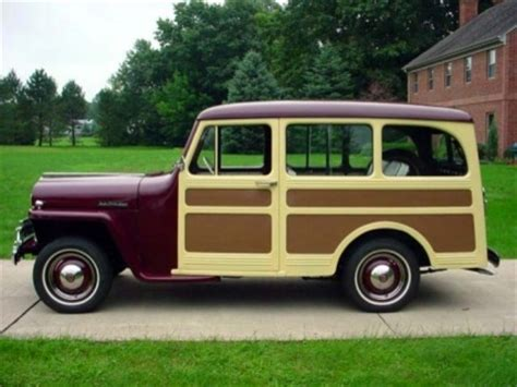 Woody Jeep 1947 Willys Overland Jeep Station Wagon Woodie Woody