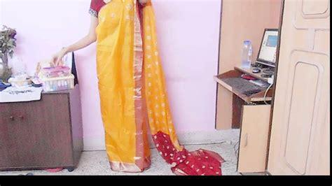 how to drape a saree video how to drape bengali style saree wear bengoli saree tie
