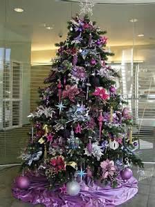 a purple themed christmas christmas pinterest