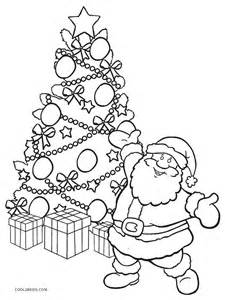 printable christmas tree coloring pages kids cool2bkids