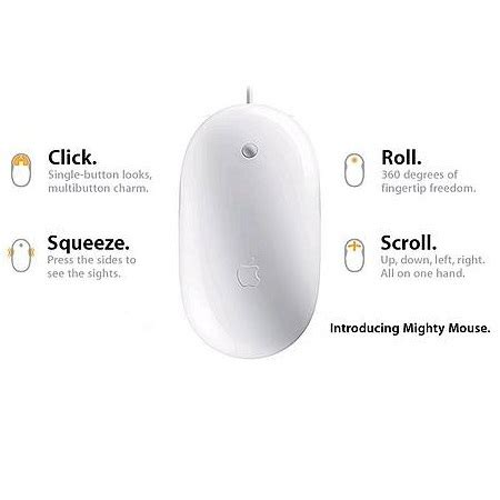 Mouse Apple Second apple mighty mouse second white jakartanotebook