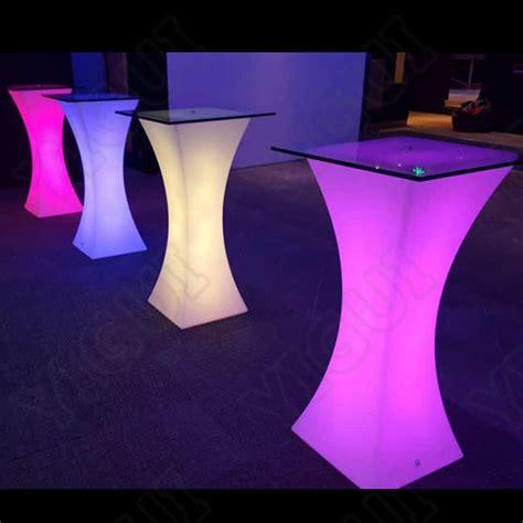 Led Bar Table Bar Illuminated Led Furniture Dubai Light Up Bar Table Led Cocktail Table Buy Bar Illuminated