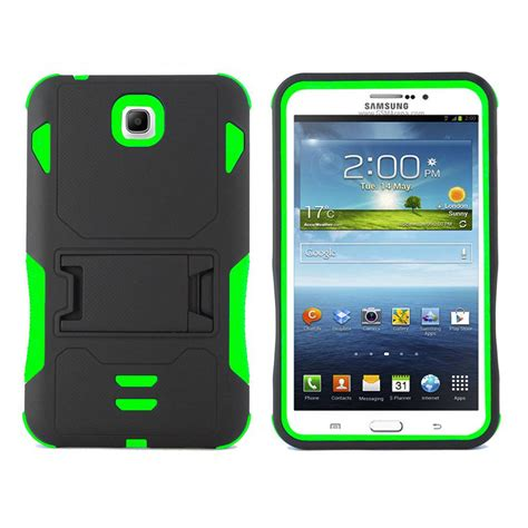 Second Samsung Galaxy Tab 3 7 0 P3200 rugged box stand cover for samsung galaxy tab 3 7 0 7 inch t210 p3200 p3210