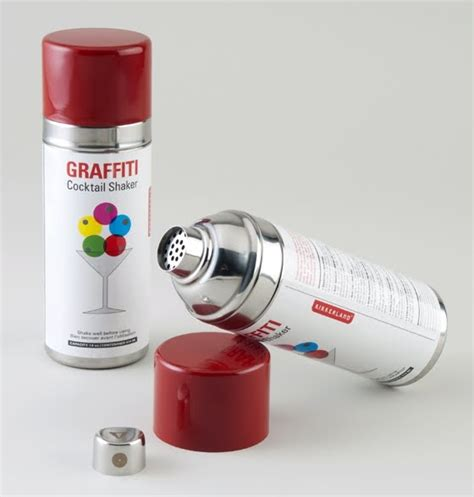 spray paint shake punch spray paint can cocktail shaker