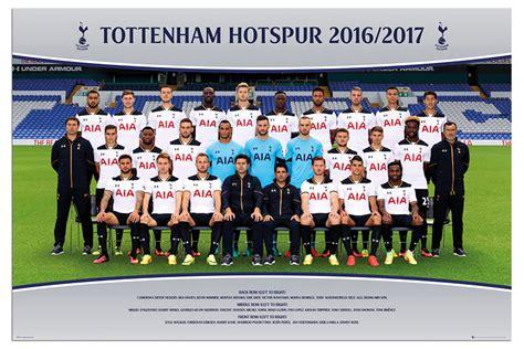 official tottenham hotspur 2016 1780549784 tottenham hotspur team squad 2016 2017 official poster maxi size 36 x 24 inch ebay
