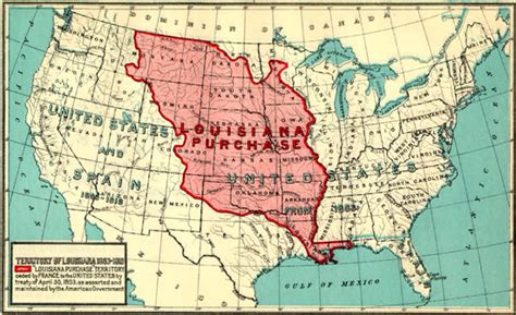 louisiana purchase map center for the study of the pacific northwest