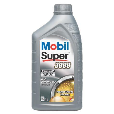 mobil 0w30 mobil 3000 formula p 0w 30 psa b71 2312 huile moteur