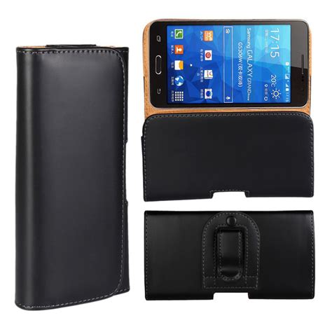 Universal Vertical Beltclip 5 2 Inch belt clip holster leather pouch cover for yotaphone 2 5 inch universal outdoor ports