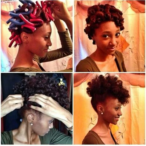 flexi rod hairstyles relaxed hair relaxed hairstyles relaxed hair and medium lengths on
