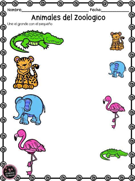 Imagenes De Animales Del Zoologico Para Preescolar | actividades animales de zoologico 25 imagenes educativas