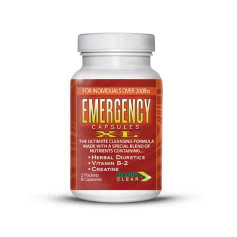 Rapid Clear Detox by Emergency Detox Capsules Xl