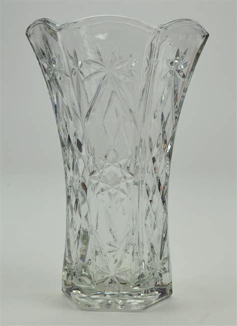 Vintage Flower Vases Wholesale by Vintage Clear Glass Vases Home Design Ideas