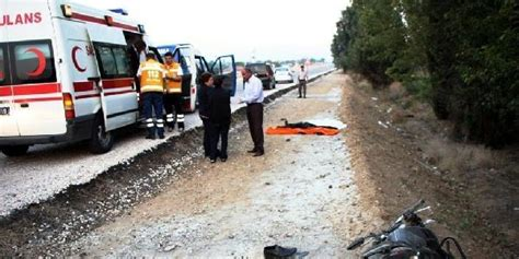 motosiklet tamircisi kazada oeldue memurlarnet