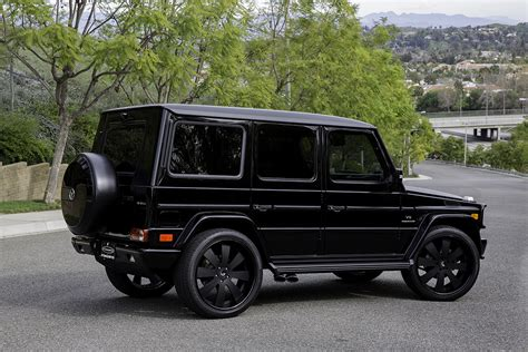 mercedes g class blacked out g class on otto