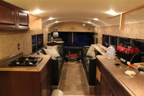 skoolie conversion skoolie interior pretty cool pinterest interiors and