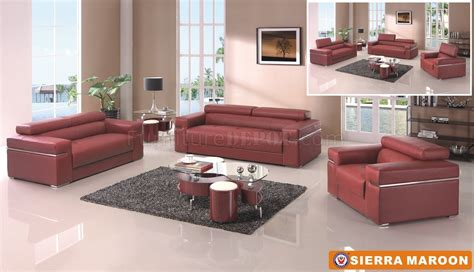 maroon leather sofa burgundy leather couch google search