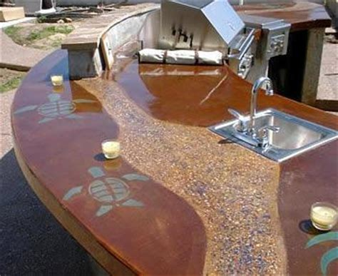 outdoor concrete bar top concretenetwork com releases new information on concrete