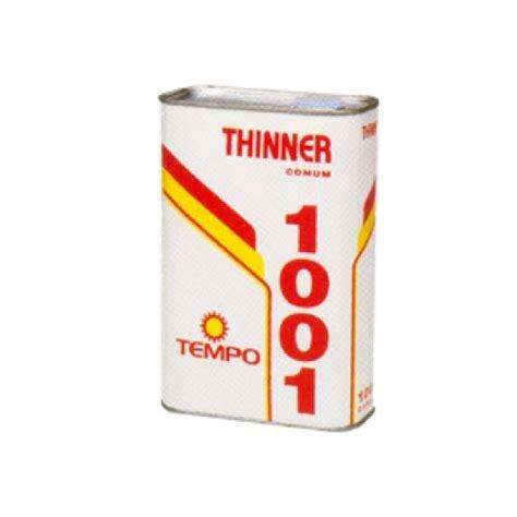 Thinner H solvente thinner 1101 5 lt tempo tinta ascael