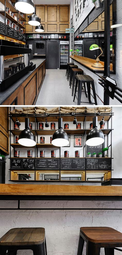 coffee shop design cost andreas petropoulos has designed a small takeaway coffee