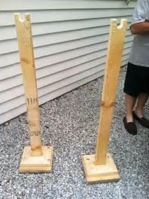 had a friend make portable clothes racks just add a pole