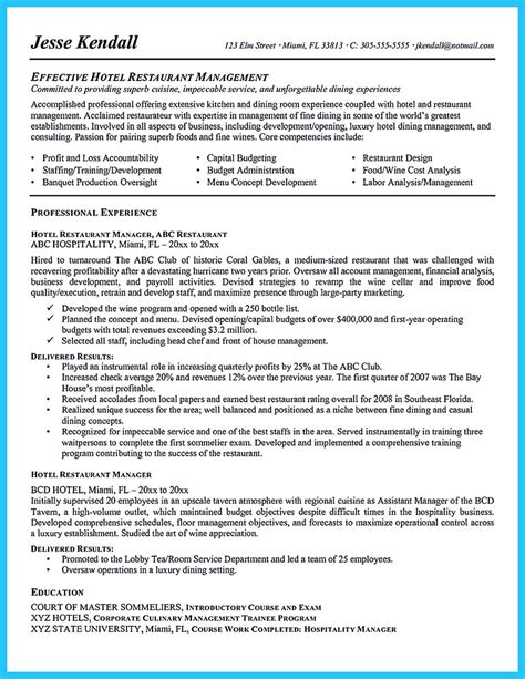 Cover Letter Exle Bar Staff Brilliant Bar Manager Resume Tips To Grab The Bar Manager