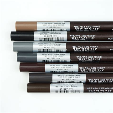 Etude Drawing Eye Brow Brown etude house drawing eye brow new review