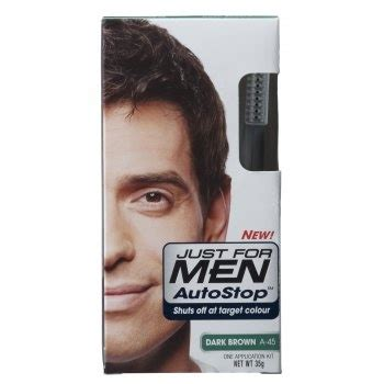 mens hair color products just for autostop foolproof haircolour brown 163 7