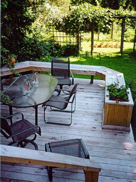 1000 images about yard built in garden seating on pinterest fire pits deck benches and