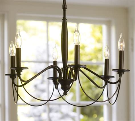 Pottery Barn Chandeliers Graham Chandelier Pottery Barn