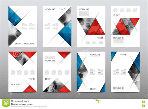 magazine pages layout design vector brochure layout template flyer design vector magazine