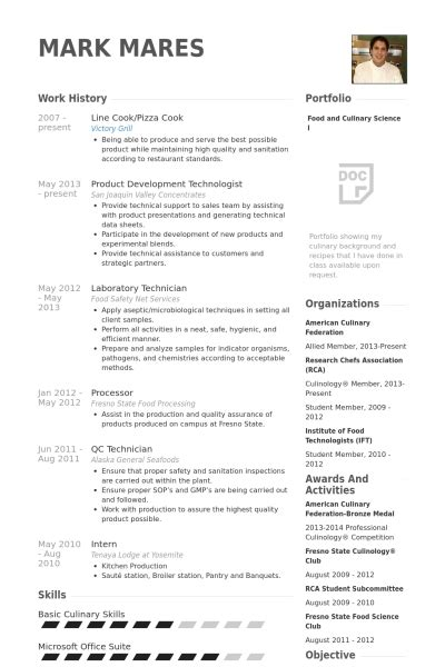 Resume Templates Cook Assistant by Cook Resume Template Learnhowtoloseweight Net