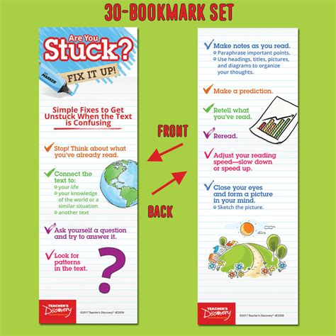Set Of 30 Bookmark supplies s discovery