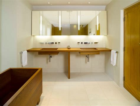 Modern Bathrooms Ltd Teak Bathroom On Dartmoor Modern Bathroom Other By William Garvey Ltd