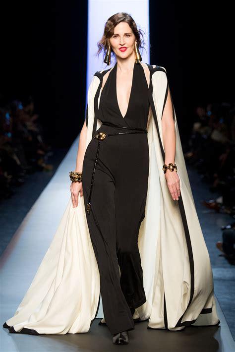 couture embellished denim trend 2015 jean paul gaultier haute couture s s 2015 paris graveravens