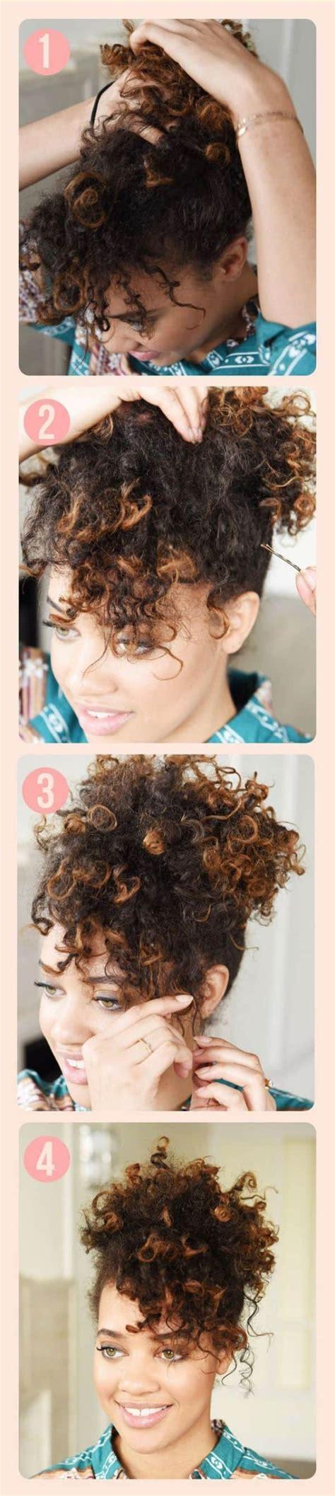peinado para pelo corto y rizado hermosos peinados pelo rizado para todos los d 237 as