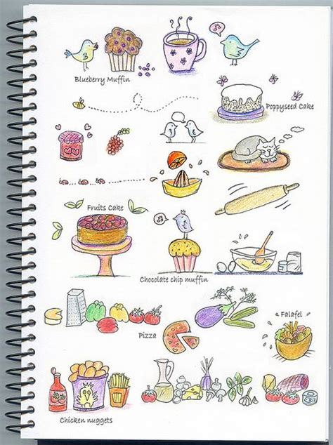 food doodle pens 322 best images about how to drawing on
