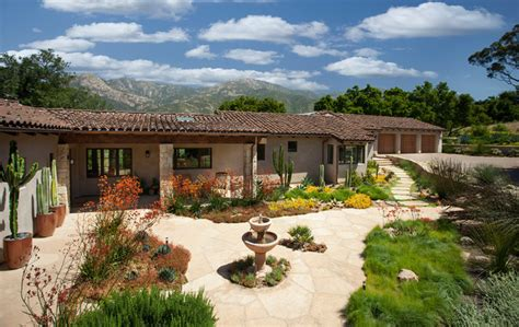spanish ranch style homes california spanish ranch home mediterranean landscape